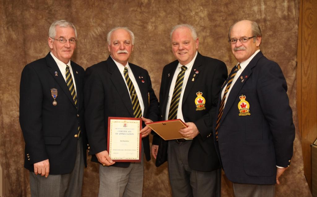 royal canadian legion honours and awards manual